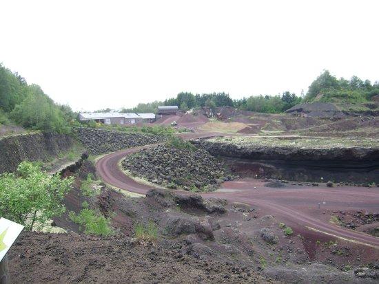 Volcan De Lemptegy Vue Interieure Du Site
