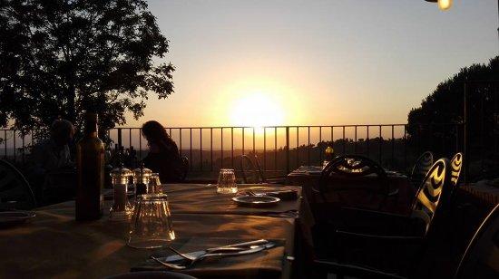 Osteria di Casa Chianti: Tramonto Romantico - Romantic Sunset