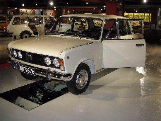 Polski Fiat 125  Picture of The Retro Museum In Varna, Varna  TripAdvisor