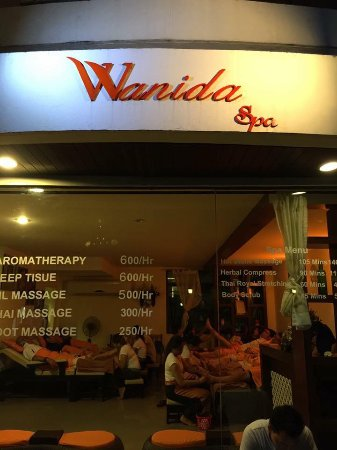‪Wanida Massage‬