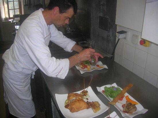 Aux Vieux Arceaux : Le Chef