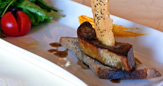 Aux Vieux Arceaux : Terrine de Foie gras de canard
