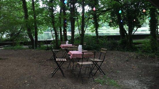 Lacrouzette, ฝรั่งเศส: Vue sur le lac depuis Le Goupil
