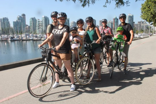 Skyline Vancouver Stanley Park Picture Of Cycle City Tours And