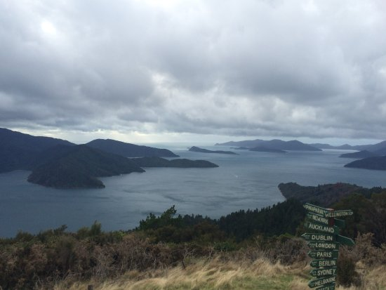 Queen Charlotte Track: View from Eatwell Lookout