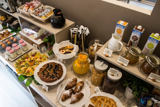 Hotel Ares Milano: Buffet