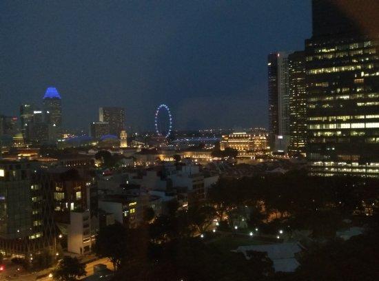 Furama City Centre: Night view