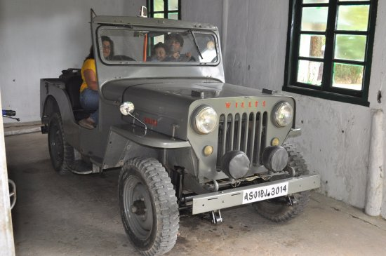 Balipara, India: Vintage Cars in Heritage Villa