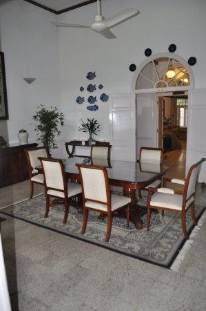 Wild Mahseer: Dining Room @ Heritage Villa