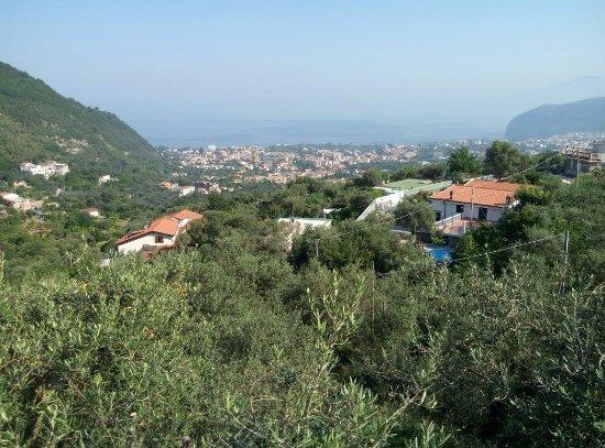 Casa Mazzola B&B: The view from the balcony at Casa Mazzola