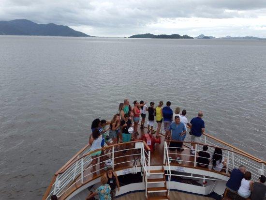 Barco Principe Joinville: Navegando