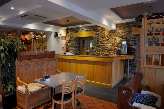 Lampeter, UK: Restaurant Area