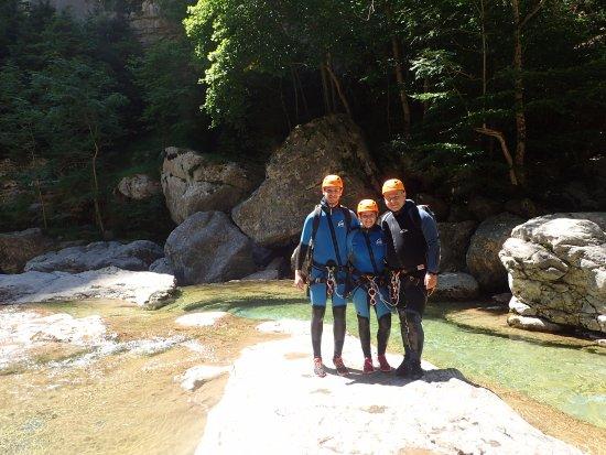 Canyontrek Guara: ready for Canyoning