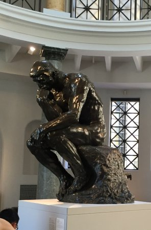 Cantor Arts Center: A rather famous sculpture (although there are several in existence; 10 were cast)