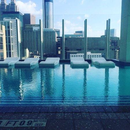 Rooftop Pool Picture Of W Atlanta Downtown Atlanta