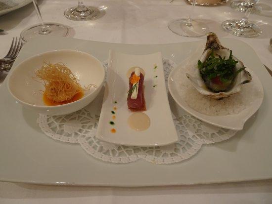 Waldhotel Sonnora Restaurant: Gruss aus der Küche