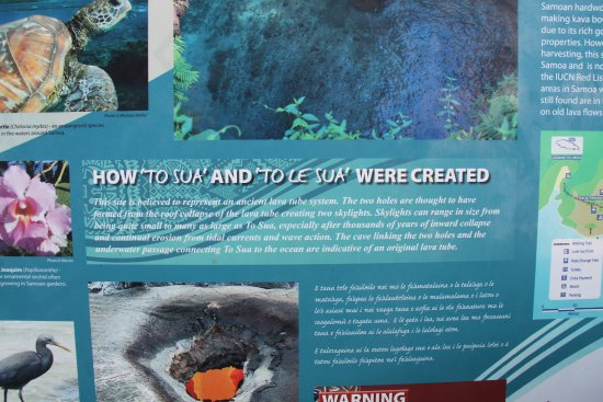 To Sua Ocean Trench: The history