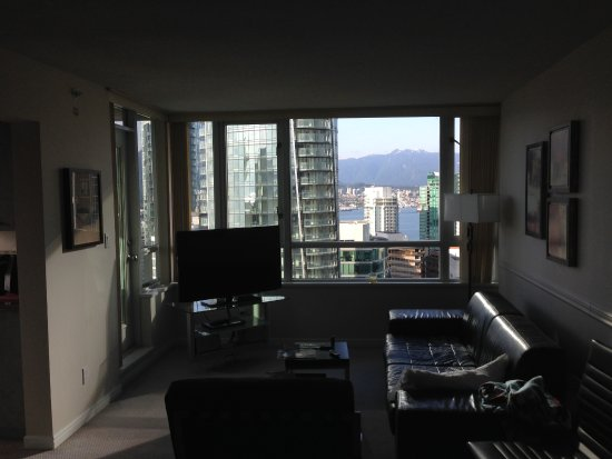 Carmana Plaza: living area