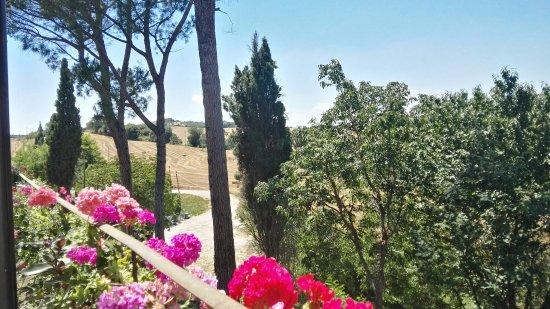 Acquasparta, Włochy: Il Re Beve... ed osserva uno splendido paesaggio!!