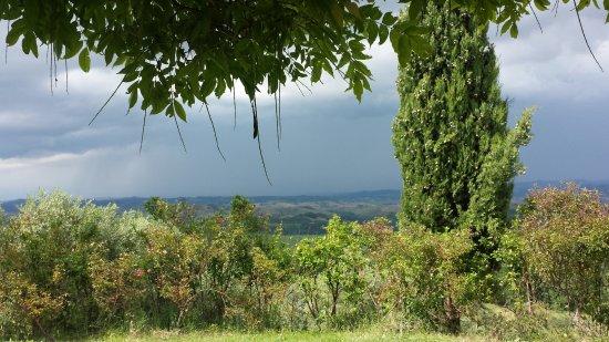 Rigone in Chianti: Ausblick Ansedonia