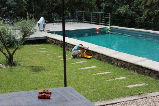 Herault, France: piscine