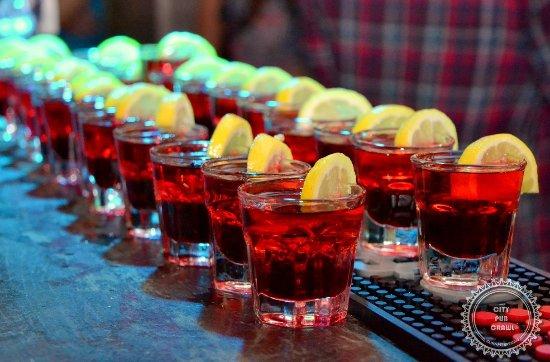 City Pub Crawl Saint-Petersburg: Red attack
