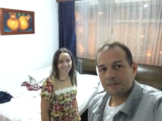 Hotel Casa Paulina: No quarto.
