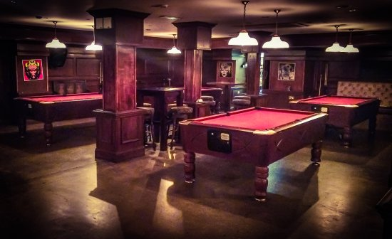 Drury Street Bar U0026 Kitchen: 4 American Style Pool Tables