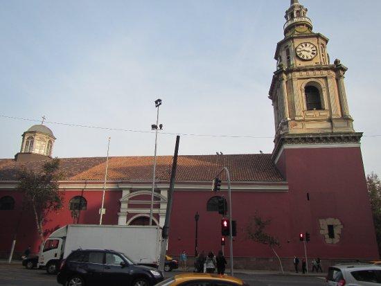 San Francisco Church : Outside of the church
