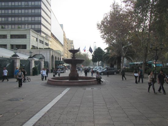 San Francisco Church: The plaza in front of the church