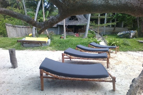 Mafia Beach Bungalows: Our Beach