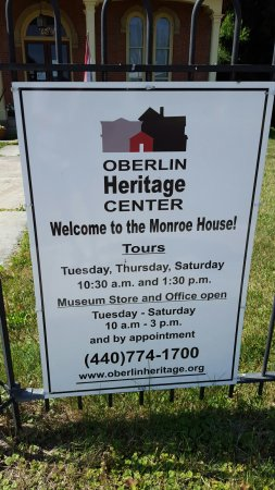 Oberlin, OH: Monroe house