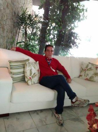 Ubatuba Palace Hotel: Recepção