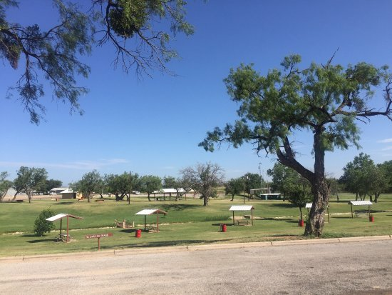 Sweetwater, تكساس: Picnic areas, Newman Park