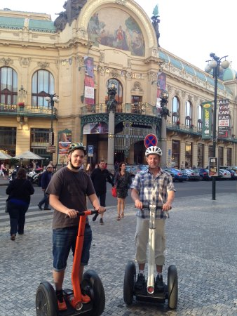 Eco segway tour