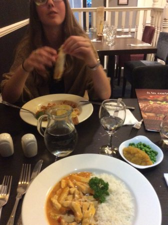 The Windermere Hotel: Meal in the dining room