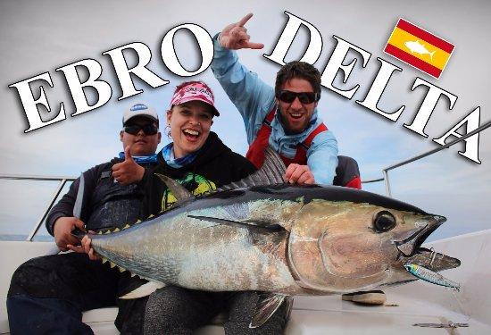 Riumar, Spanien: Esta imagen representa nuestras jornadas de pesca guiadas en el Delta del Ebro.