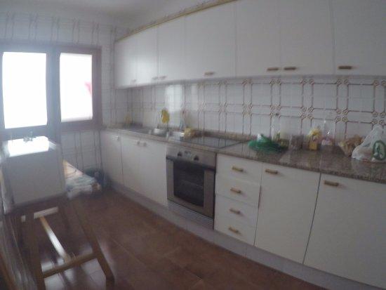Apartamentos Bahia: Cozinha