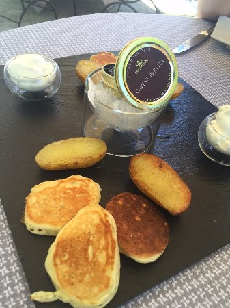 Limonest, Francia: Délice de Caviar