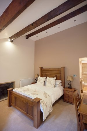 Bell Busk, UK: The New Swaledale Suite bedroom