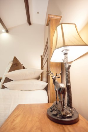 Bell Busk, UK: The Swaledale Suite stag lamps