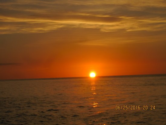 Sunset On Captiva Island Picture Of