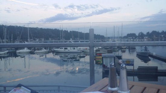 Anthony's HomePort Gig Harbor: View from Anthony's Patio Seating
