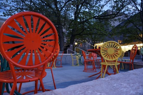 Memorial Union Terrace: Your Terrace chair is waiting for you.