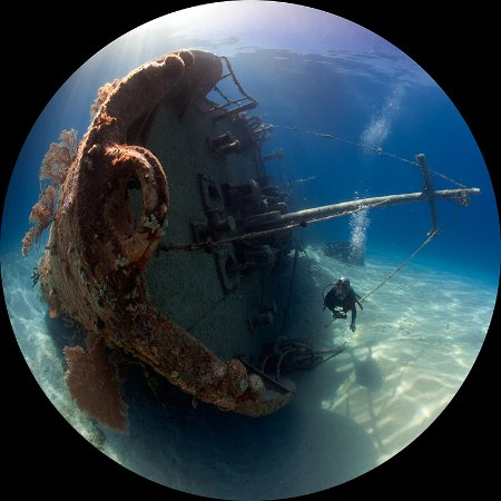 Shannas Cove Resort: wreck