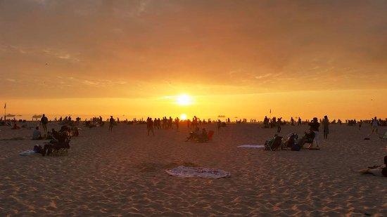 Holland State Park Beach : Sunset on Ottawa Beach, Holland Michigan. Photo by Bekah Dirkse.