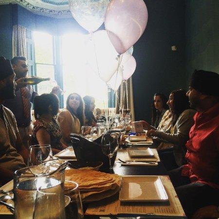Bothwell, UK: birthday party