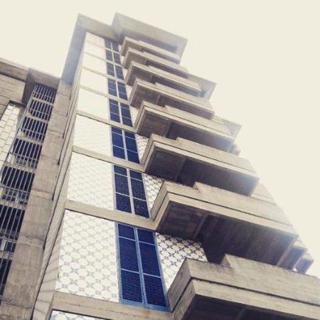 Hotel Gorgulho : O Hotel visto de baixo.