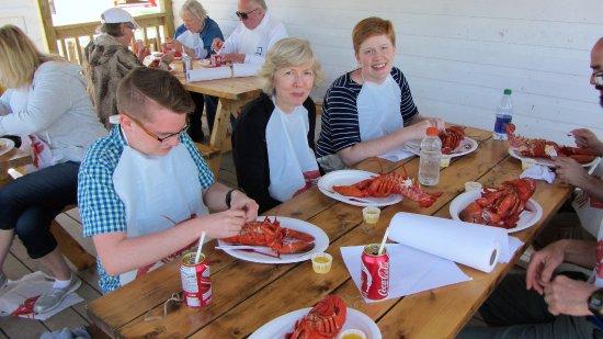Ryer Lobsters: Loved those lobsters!