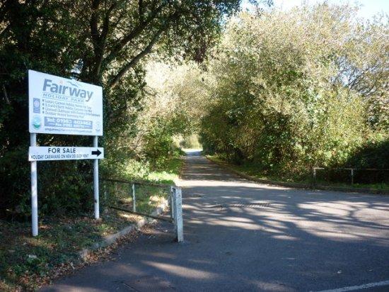 Fairway Holiday Park: Fairway Enterance